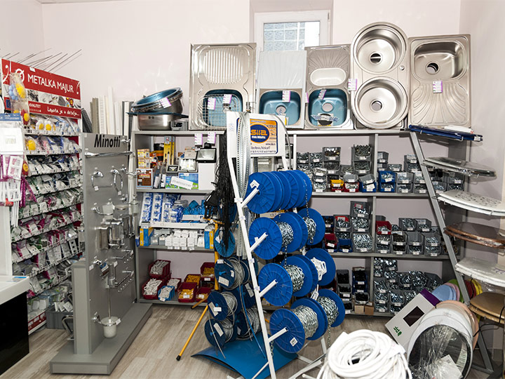 Plumbing, Electrical and Lighting Materials Store