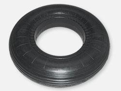 Točak gumeni 400x100