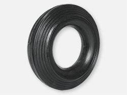Točak gumeni za kontejnere i teretna kolica Ø200mm