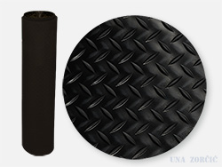 Rubber flooring width:1200mm, lenght up to 20000mm, thickness: 3mm