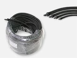 Thread braided fuel hose Ø4mm - Ø10mm