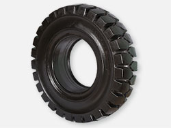 Forklift tire without toothed connector 15x4 1/2-8